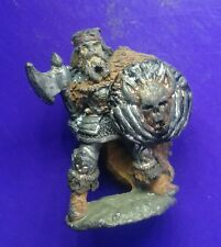C35 Chaos knight warrior citadel GW games workshop 2nd compendium axe & shield