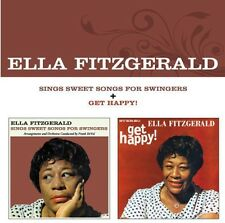 Sings Sweet Songs For Swingers/Get Happy - Ella Fitzgerald (2013, CD NEUF)