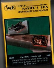 CMK CZECH MASTER'S KITS 4028 - Fw-190A3 - INTERIOR SET 1/48 RESIN KIT