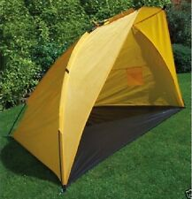 Yellow Fishing Shelter Dome Tent Bivvy Camping Beach Sun Rain Shade RY583