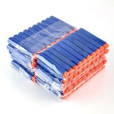 100 Pcs 7.2cm Refill Foam Darts For Nerf N-strike Elite Series Blasters bullets