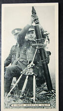 British Army   3 Inch Mortar Team Training   Vintage Photo Card  # VGC