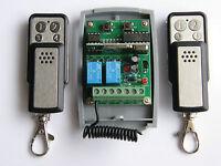 Lernfähiger Universal 433Mhz Funk Empfänger Fernbedienung DC 12-24V + 2 sender