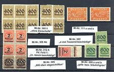 GERMANY  REICH INFLA  22   ST.  VARITIES -  */ **    VF      @4