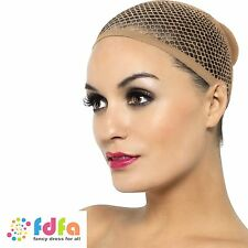 NUDE MESH WIG CAP ladies womens fancy dress accessory for wigs