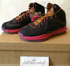 NIKE LEBRON X 10 EXT DENIM Sz US UK7 8 9 10 11 12 13 CORK 597806-400 MVP Suede