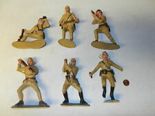Marx Goldmarx set of 6 different Japanese WWII soldiers!