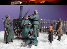 Stalingrad 1/35 The Dinner, Eastern Front 1941-1944 (Big Set - 6 Figures)