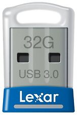 Lexar JumpDrive S45 32GB USB 3.0 Flash Stick Pen Memory Drive - Blue