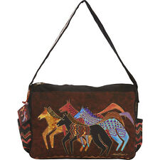 Laurel Burch Native Horses Shoulder Bag - Native Horses