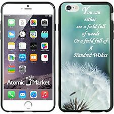 Dandelion Quote For Iphone 6 Plus 5.5 Inch Case Cover