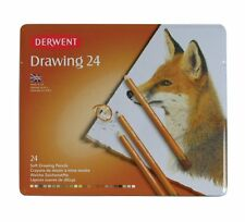 Derwent Drawing Pencils 24 Tin