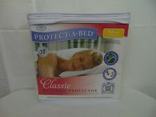 Protect-A-Bed Classic Waterproof Allergen Barrier Mattress Protector FULL #3579