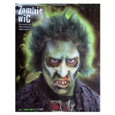 Fun World Men Zombie Wig Costume Accessory, Halloween Dress Up Wig