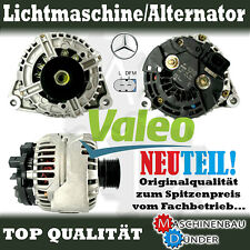 MERCEDES - BENZ LICHTMASCHINE ALTERNATOR ORIGINAL VALEO 120A NEW NEU !!!