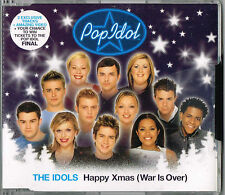 "THE IDOLS - 5""CD - Happy Xmas (War Is Over) + Video. New Sealed"