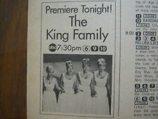 1969 TV Guide(KING FAMILY  PREMIERE/ROWAN AND MARTIN'S LAUGH-IN/JONATHAN WINTERS