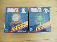 Marvel Collector Corps Funko Pop Mystery Mini She-hulk And Captain Marvel