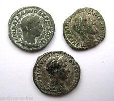 Circa .100 - 300 A.D British trovato periodo romano argento Denarius MONETE Inc Adriano