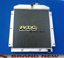 3 Rows Aluminum Radiator for 1947-1954 Chevy Pickup Truck 47 48 49 50 51 52 53