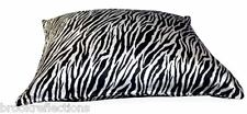 100%SILK-PILLOW CASEx1*NEW*Zebra*Rejuvenate-Comfort-Style*Quality-Well Made*BR