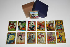 CARTOON SKETCH COLLECTIBLE COLLECTION VERY RARE METALLGLOSS CARDS (MISS ONE)