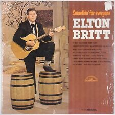 ELTON BRITT: Somethin' for Everyone NM- ABC Country MONO Shrink LP