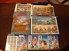 Lot USPS Stamps #3293, 5597P, 5527P, 5588P Aircraft, Desert, Dinosaurs ETC