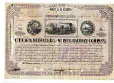 Chicago Milwaukee St.Paul and Pacific Railroad  1878