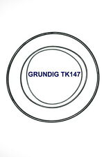 SET BELTS GRUNDIG TK147 REEL TO REEL EXTRA STRONG NEW FACTORY FRESH TK 147