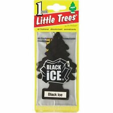 Lot Of New 24 Pack Little Trees Air Freshener BLACK ICE SCENTfor Home Auto/Car