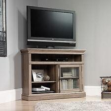 Corner TV Stand - Salt Oak - Barrister Lane Collection (414729)
