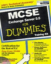 For Dummies Ser.: MCSE Exchange Server 5.5 for Dummies Training Kit by...