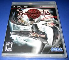 Bayonetta PS3 - Factory Sealed!! Free Shipping!!