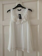 Ladies Ivory Tussled Blouse New With Tags Size 14 By Internacional