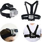 Harness Head + Chest Strap Mount Accessories for GoPro Hero 4 3+ 3 2 1 Camera