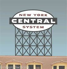 Miller's New York Central Animated Neon Sign O/HO Miller Engineering