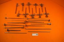 Lot of 10 Linvatec Arthroscopy Sheaths with Obturators & Probes, 24 Items Total