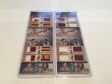 Panini Preferred Booklet Cleveland Cavaliers Lebron James Kyrie Irving Lot (2)