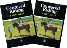 Centered Riding Vols 1 & 2 with Sally Swift Complete Set 2-DVDs BRAND NEW