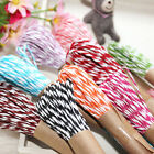 10M 2mm Cotton Twine Wedding Party DIY Crafts String Ribbon 11 Divine Colors New