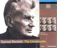 Samuel Beckett The Unnamable audiobook CD NEW 5-disc