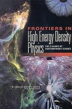 Frontiers in High Energy Density Physics:: The X-Games of Contemporary Science