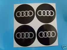 4x 90 mm fits audi wheel STICKERS center badge centre trim cap hub alloy si