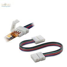 10x Schnellverbinder RGB SMD LED Stripe Streifen Verbindungskabel 15cm Verbinder