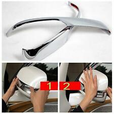 Chrome Side Door Mirror Cover Trim for Toyota Prado FJ150 2014 2015