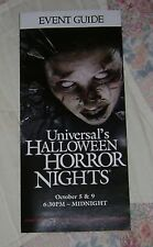 HALLOWEEN HORROR NIGHTS 18 UNIVERSAL MAP EVENT GUIDE #2