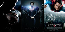 WOW! SET OF 3 SUPERMAN ORIGINAL HANDCUFFED FINAL Man of SteeL 27x40 Movie Poster
