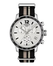 New Tissot Quickster Silver Dial Unisex Multi Strap Watch T0954171703710