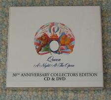 QUEEN - A NIGHT AT THE OPERA - 30th ANNIV COLLECTORS EDITION CD & DVD